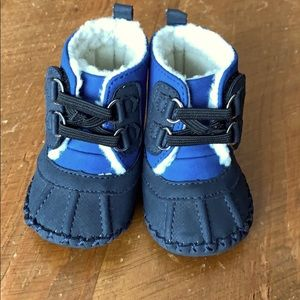 5 for $35.  Baby boot booties - 0-3 months.